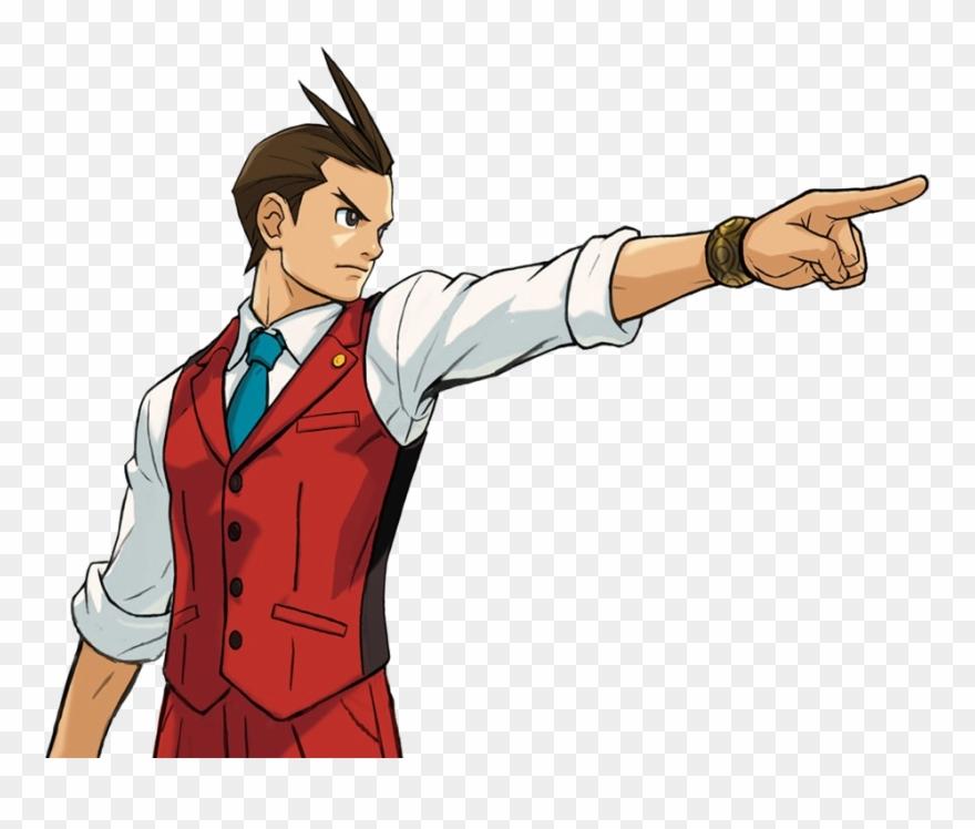 Apollo Justice: Ace Attorney Clipart (#444874).