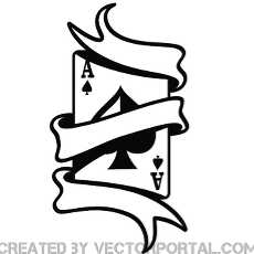 ace card clipart free vectors.