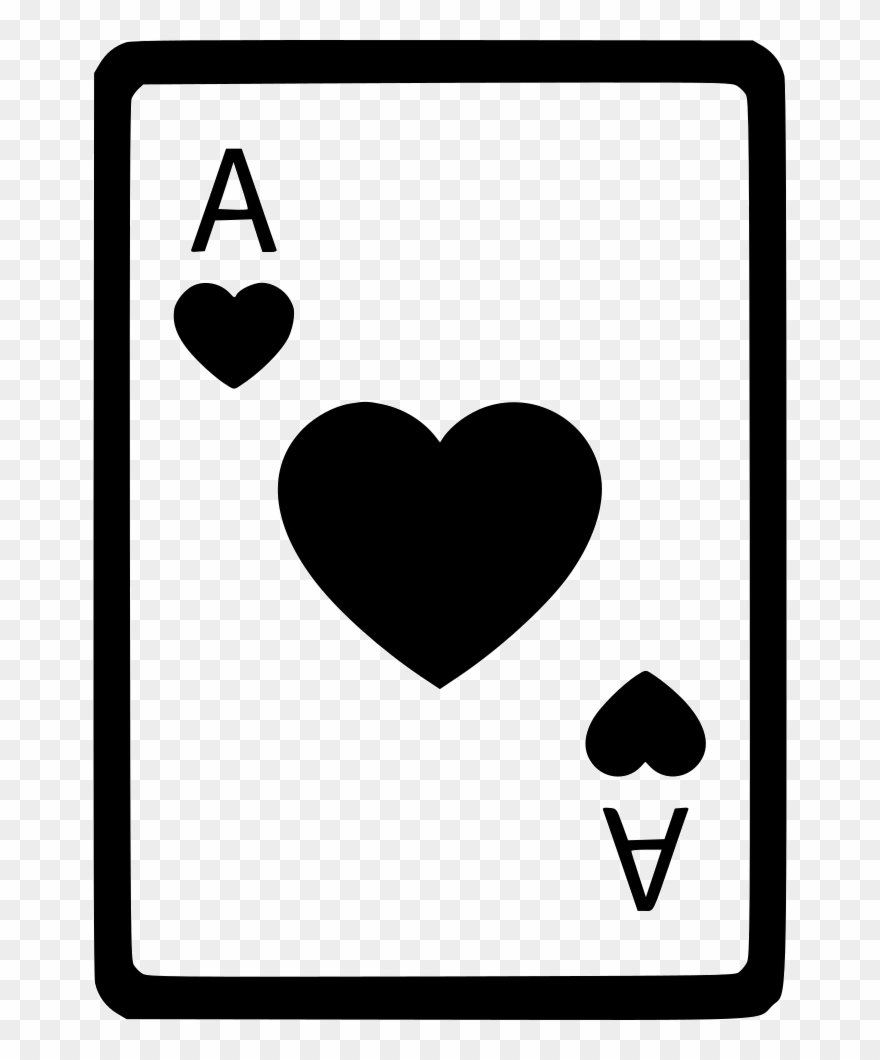 Ace Of Hearts Card Poker Comments.