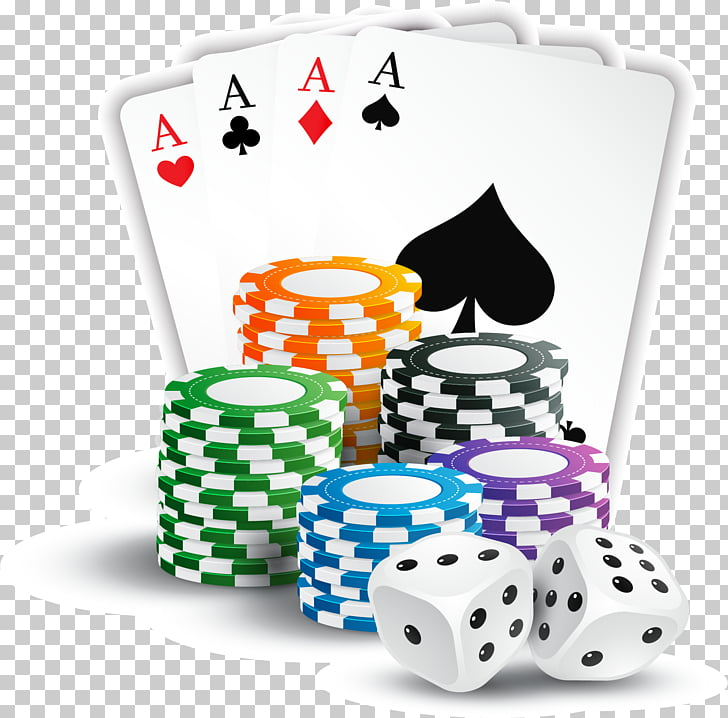 Casino token Ace Playing card Poker, Box dice PNG clipart.