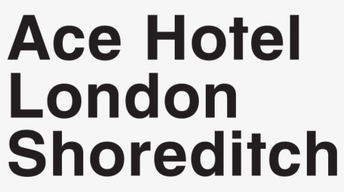 Ace Hotel London Logo, HD Png Download , Transparent Png.