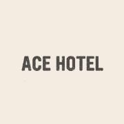 Working at Ace Hotel.