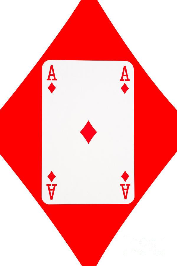 Ace Of Diamonds Clipart.