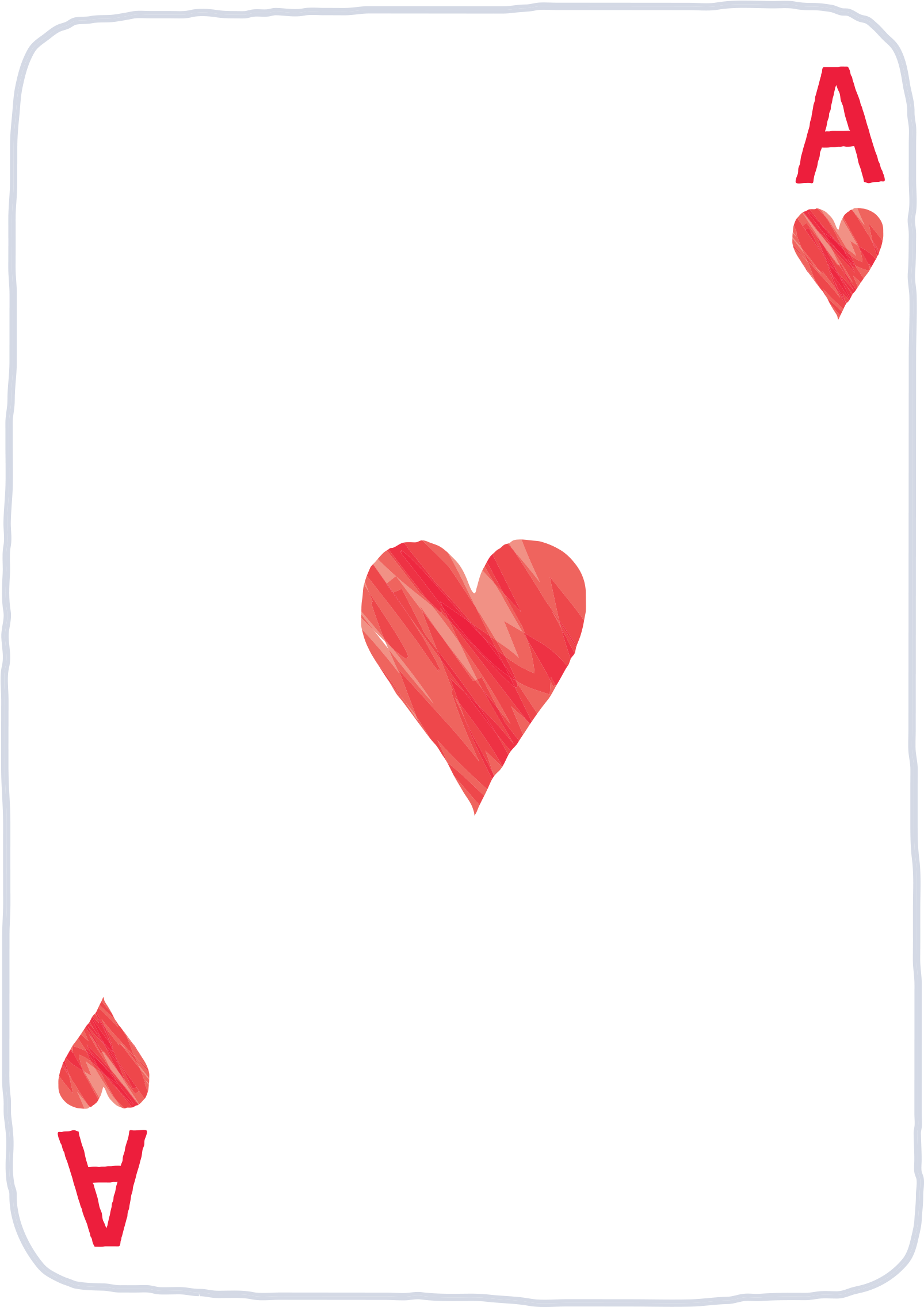 Ace Of Hearts Png.