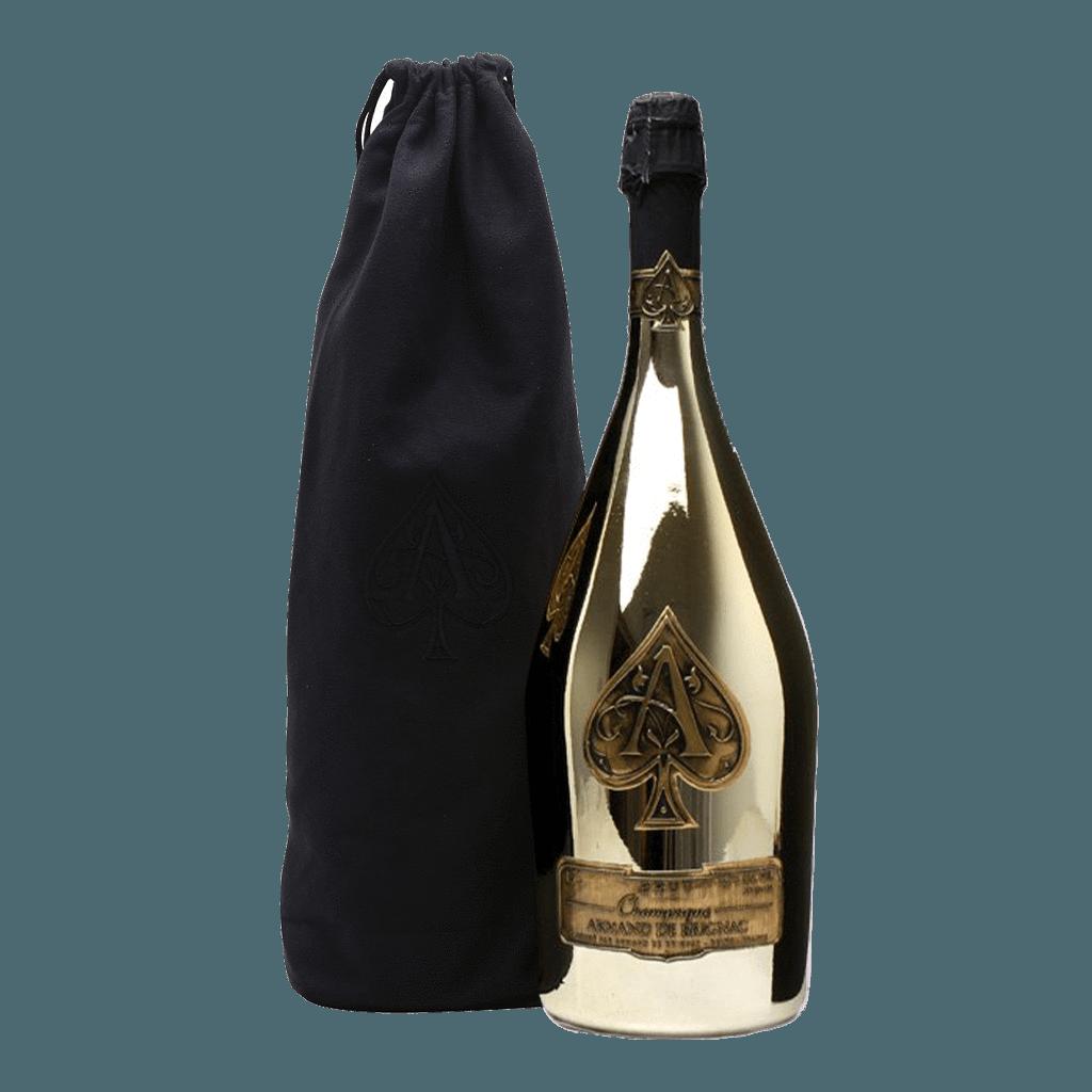 Armand de Brignac Champagne 'Ace of Spades' Brut Gold 1.5L.