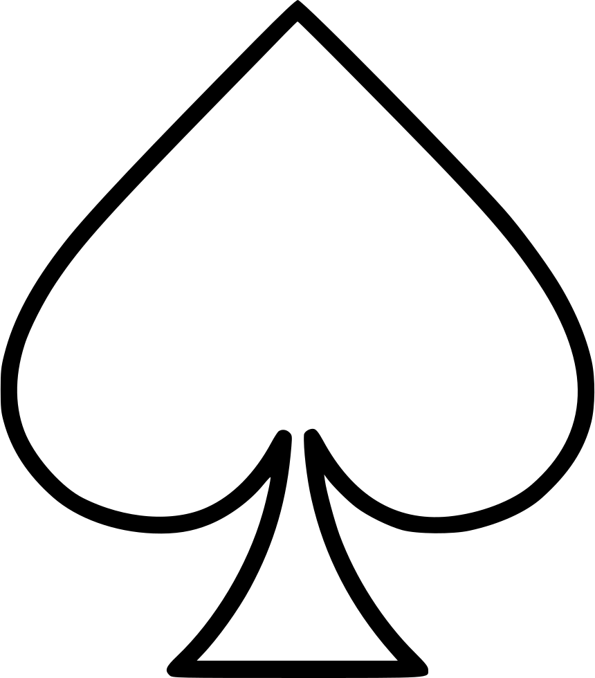 Ace Of Spades Clipart 12.