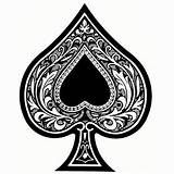 Ace Of Spades Tattoo Designs Clipart.