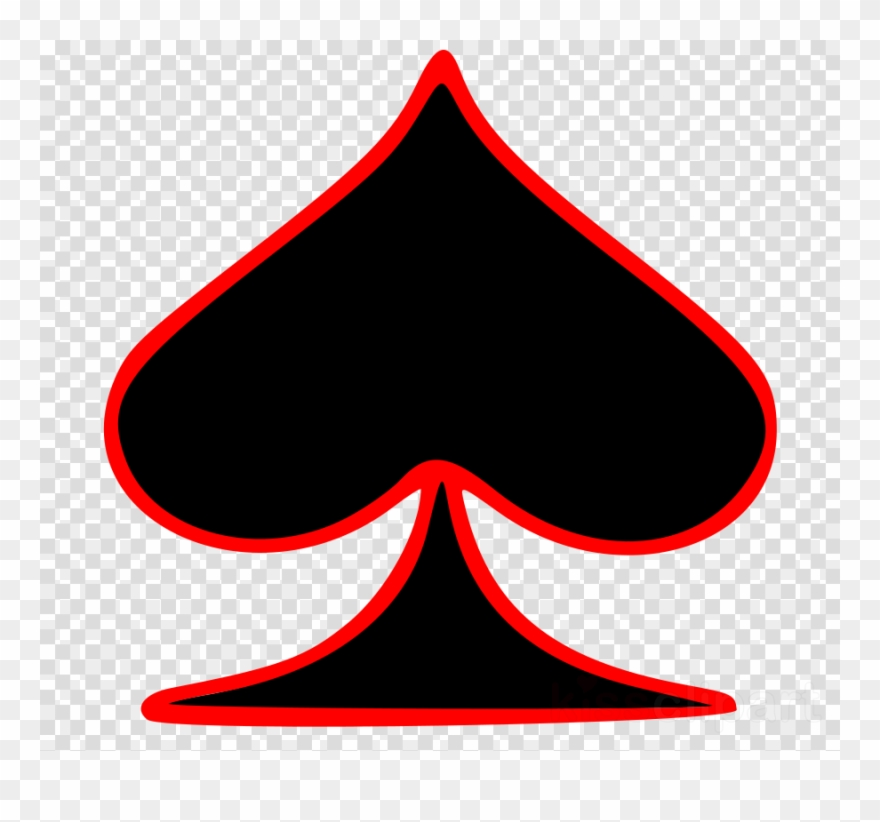 Ace Of Spades Symbol Clipart Ace Of Spades Playing.