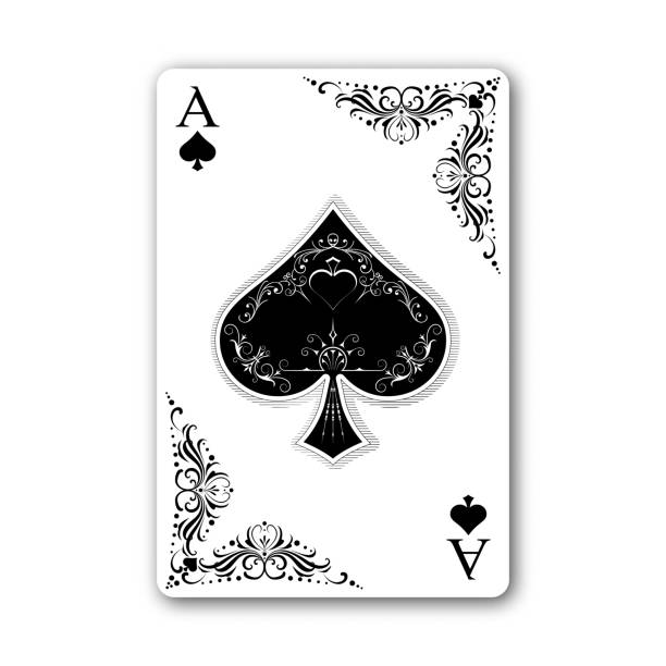 Best Ace Of Spades Illustrations, Royalty.