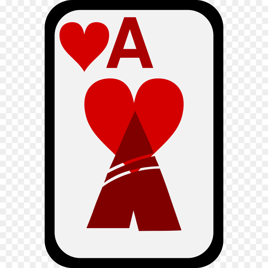 Ace of hearts Ace of spades Clip art.
