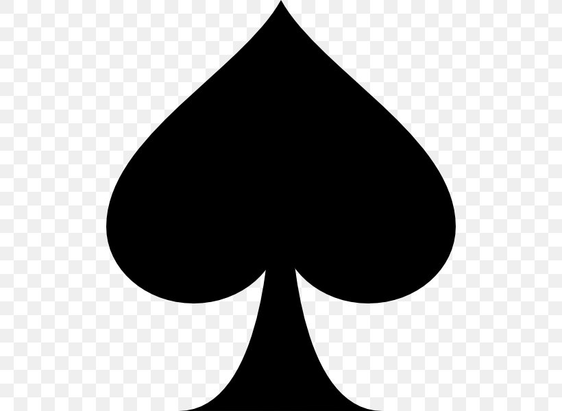 Ace Of Spades Playing Card Clip Art, PNG, 510x600px, Spade.