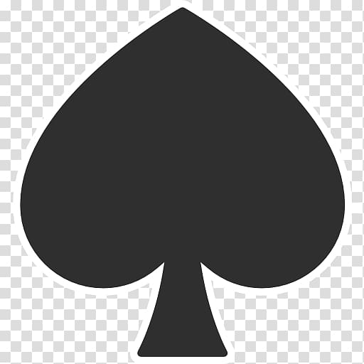 Symbol Playing card Suit Ace of spades, ace card transparent.