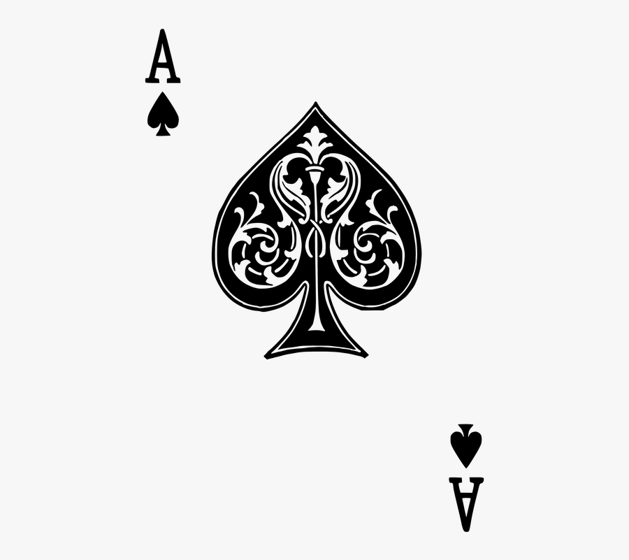 Cards, Ace, Spades.
