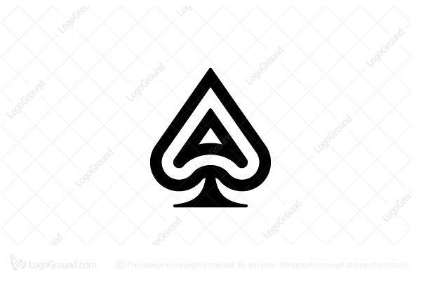 Exclusive Logo 64069, Ace of Spades Logo.