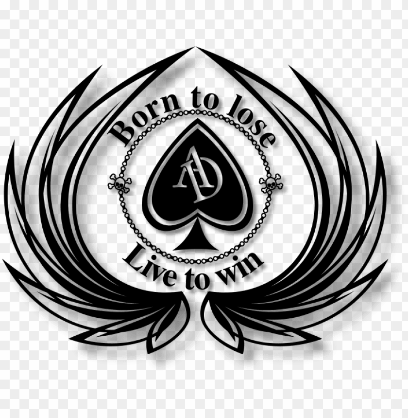 ace of spades logo png.