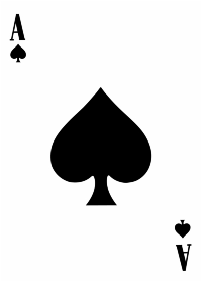 Result for ace of spades png.