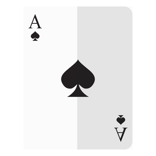 Ace of spades card icon.