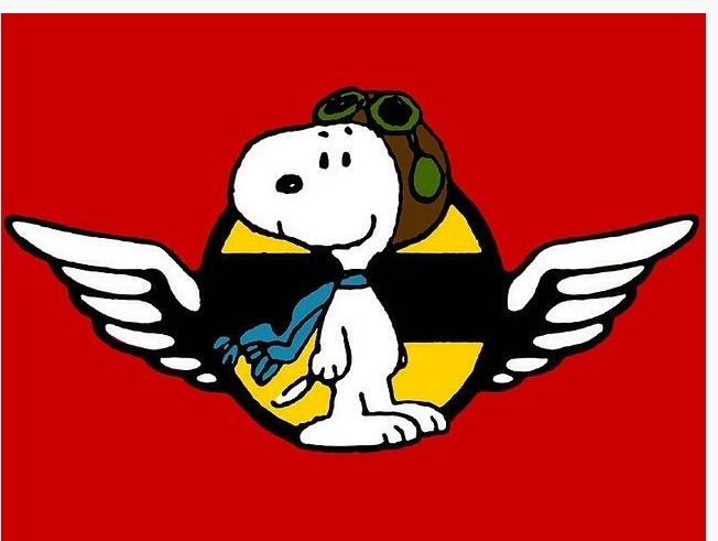Free download Snoopy Flying Ace Clipart for your creation.