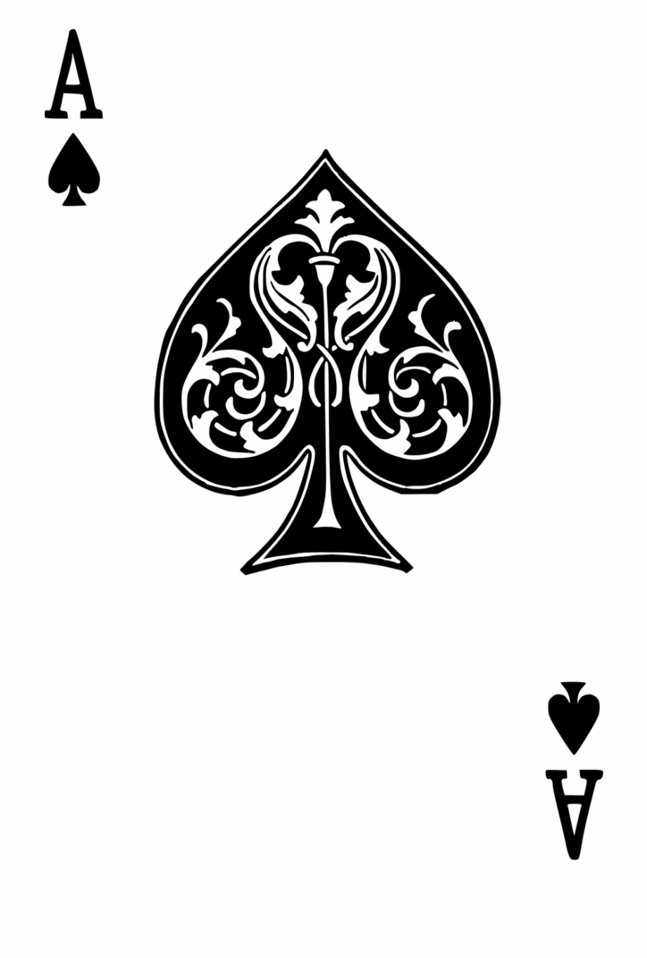 Ace Of Spades Png Free PNG Images & Clipart Download #2213111.