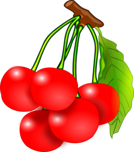 Cherry clipart #CherryClipart, Fruit clip art photo.