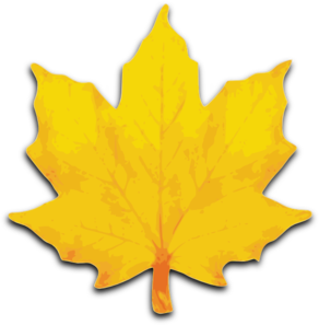 Green Maple Leaf Clipart.