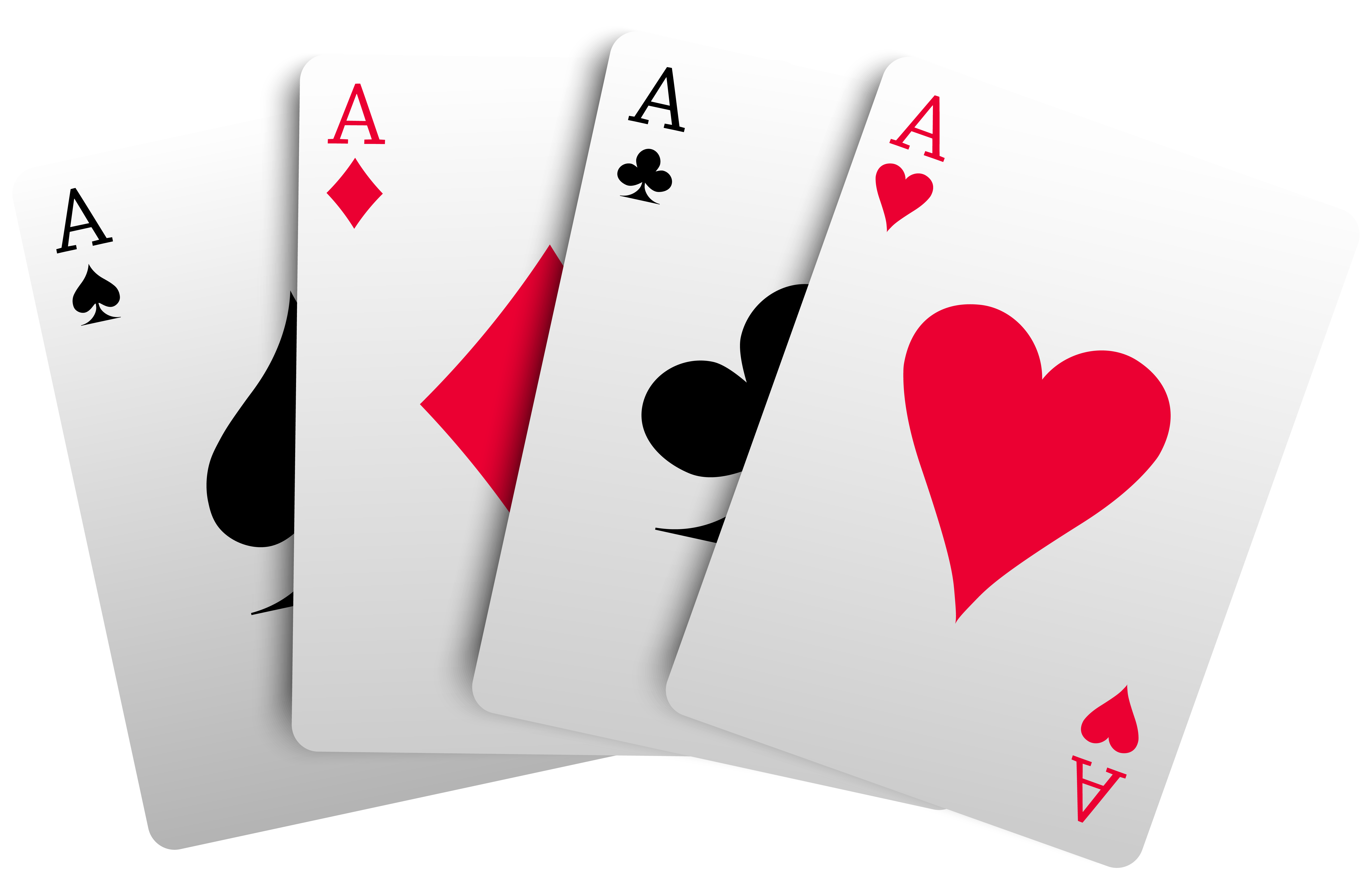 4 Aces Cards PNG Clipart.