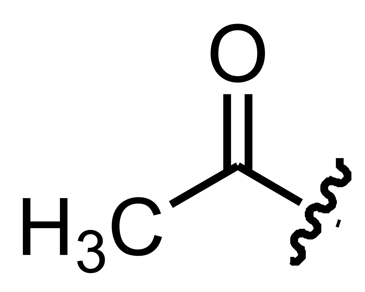 Acetyl group.