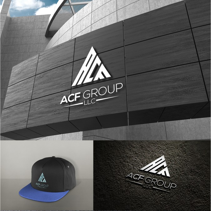 Design a masculine logo for an industrial business call ACF.
