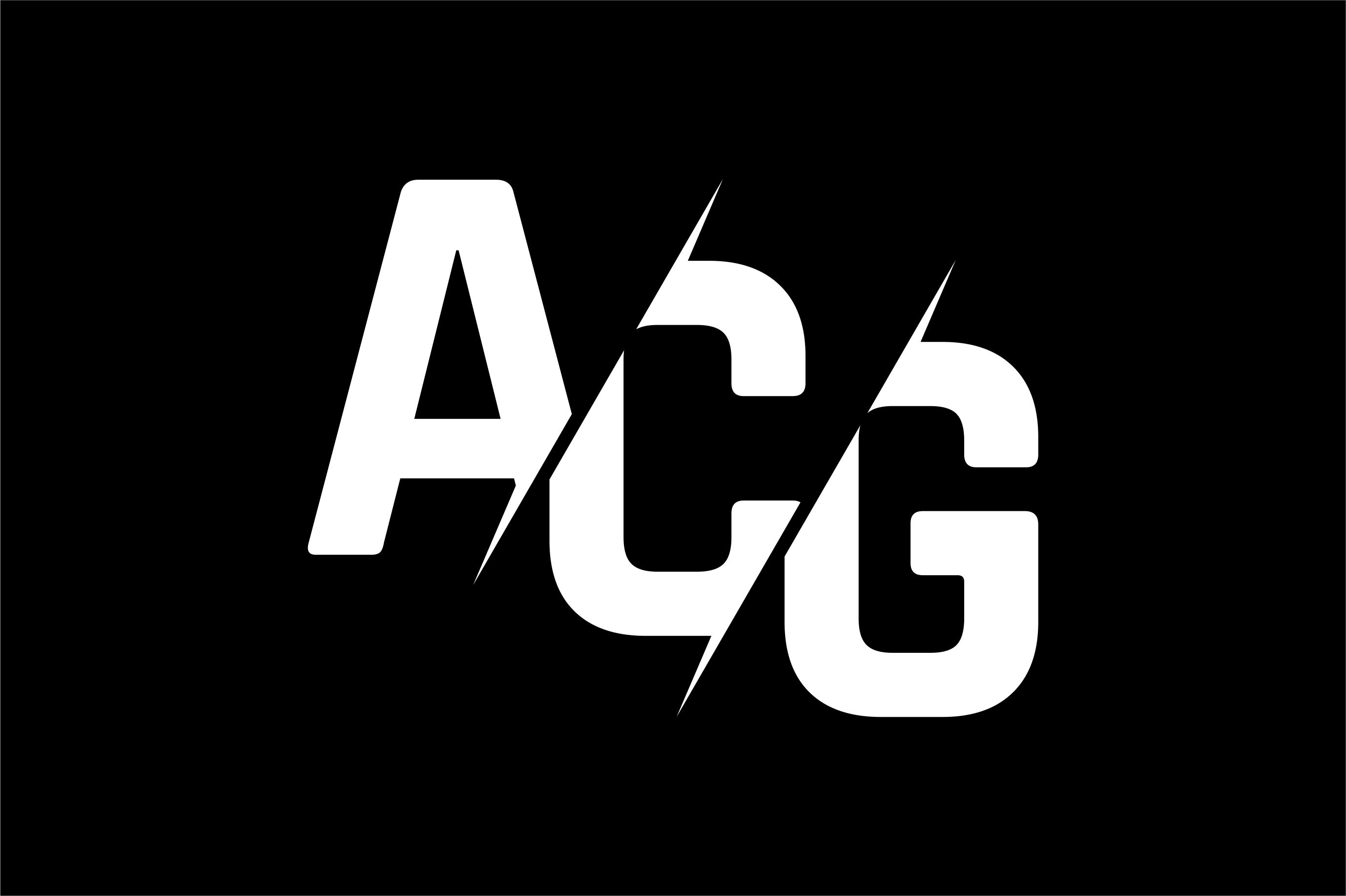 Monogram ACG Logo Design.