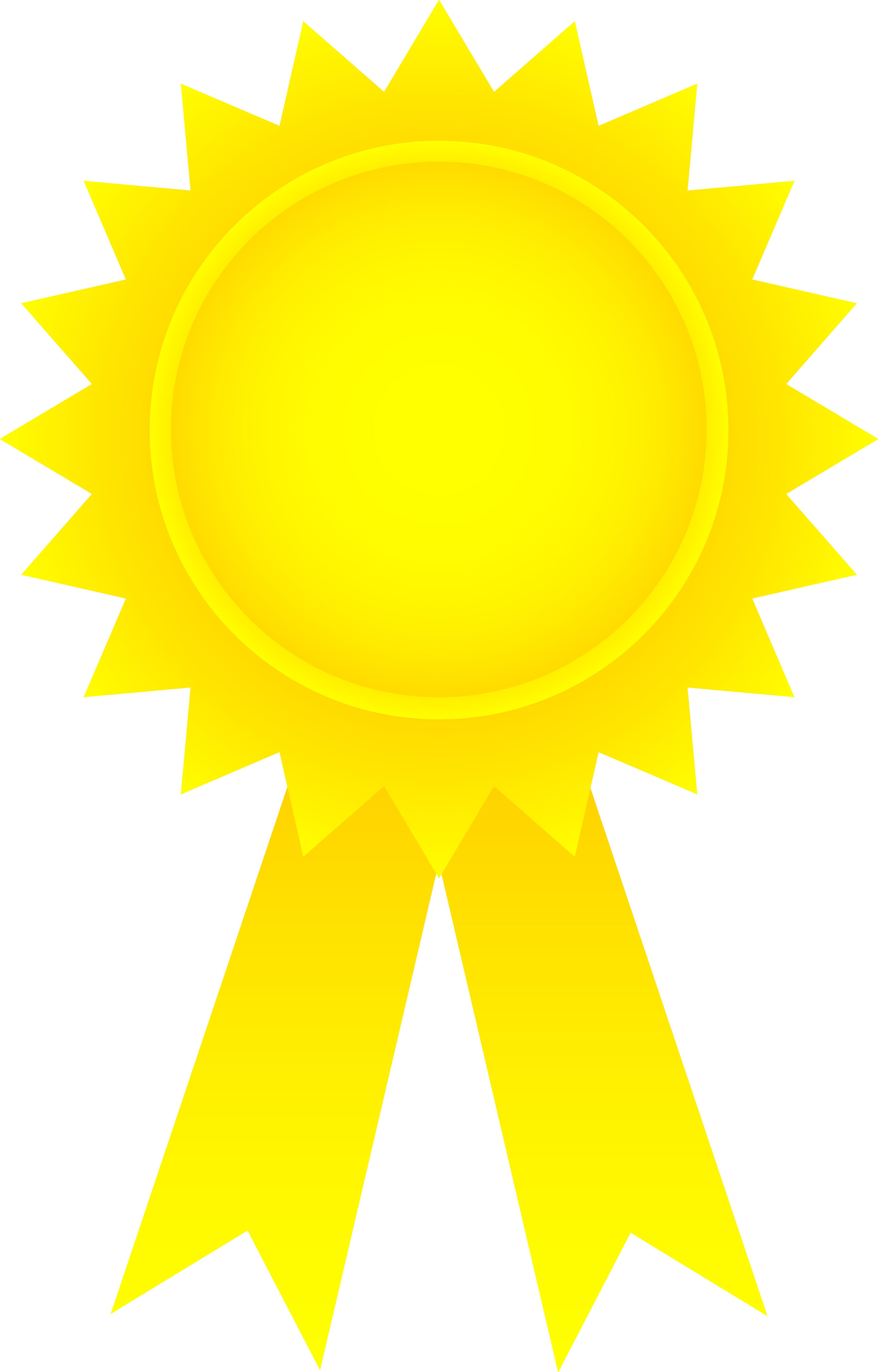 Achievement ribbon clipart.