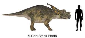 Clipart of Achelousaurus.