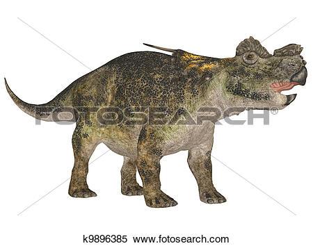 Stock Illustration of Achelousaurus k9896385.