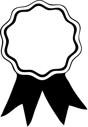 award metal template.