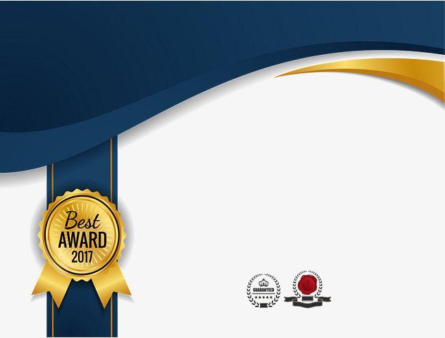 Golden Badge, Vector Png, Qualification, Badge PNG.