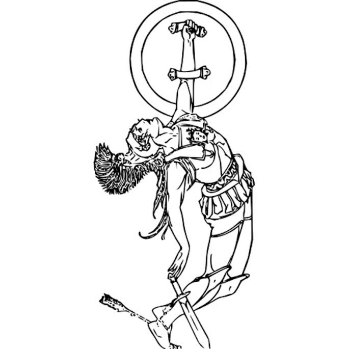 Achilles Clip Art.