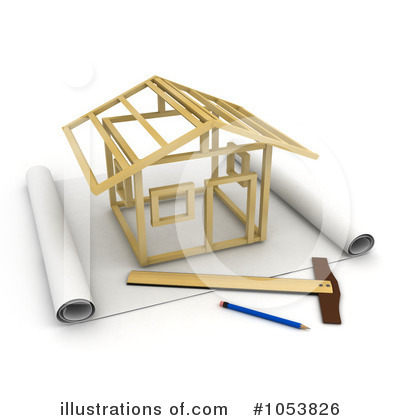 Architecture clipart illustrations.