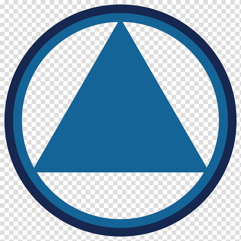 Ottawa Area Intergroup of Alcoholics Anonymous Logo Triangle.