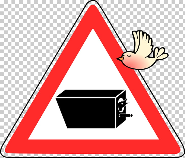Traffic sign, achtung PNG clipart.