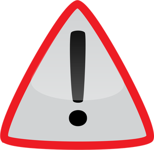 10721 free warning symbol clip art.