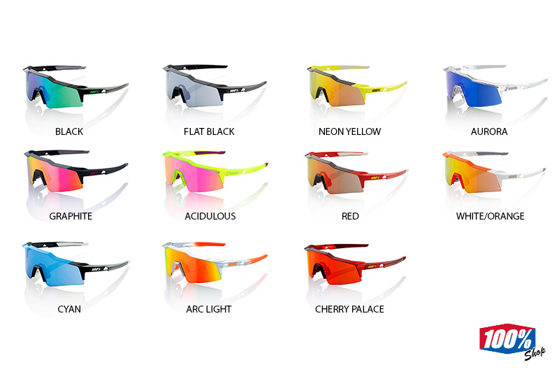 SPEEDCRAFT SPORT SUNGLASSES (SL) MIRROR LENS.