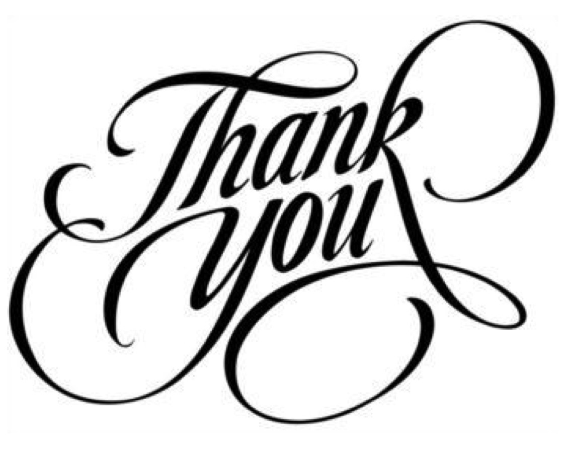 Thanks Clipart Acknowledgement. Blog Ack #65101.