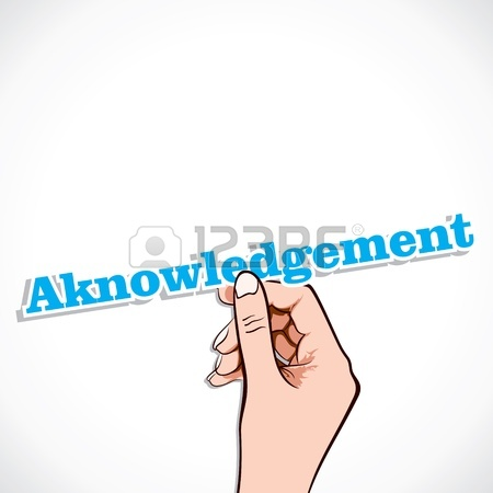 Acknowledgement clipart 6 » Clipart Station.