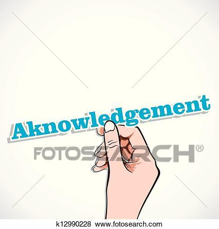 Acknowledgement clipart 6 » Clipart Portal.