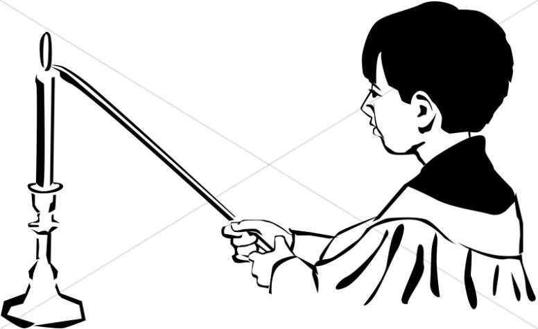 Free Clipart Acolyte & Free Clip Art Images #9372.