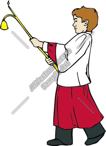 Acolyte Clipart and Vectorart: Religious.