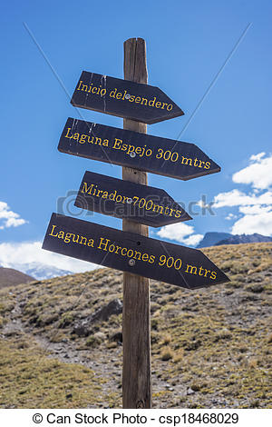 Stock Photo of Aconcagua, in the Andes mountains in Mendoza.