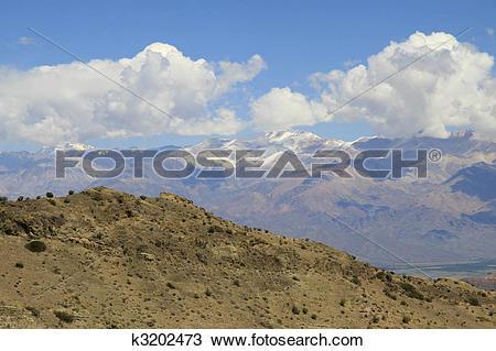 Stock Photo of Aconcagua mountain k3202473.
