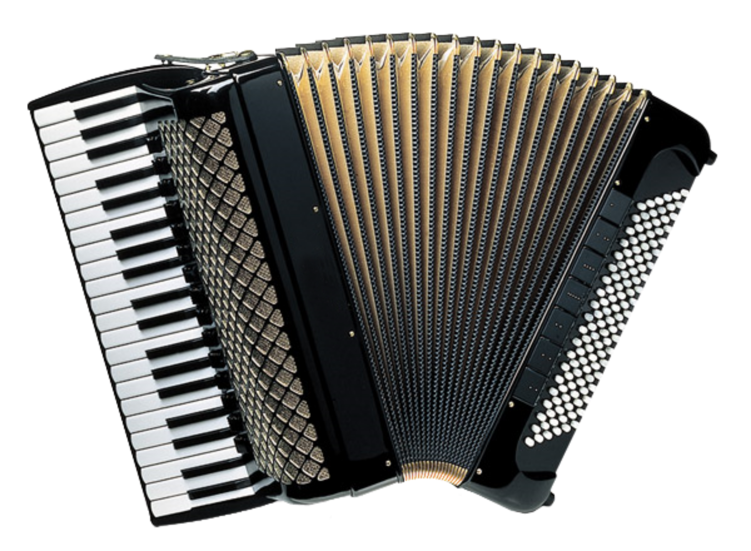 Piano Accordion Vector Clipart image.