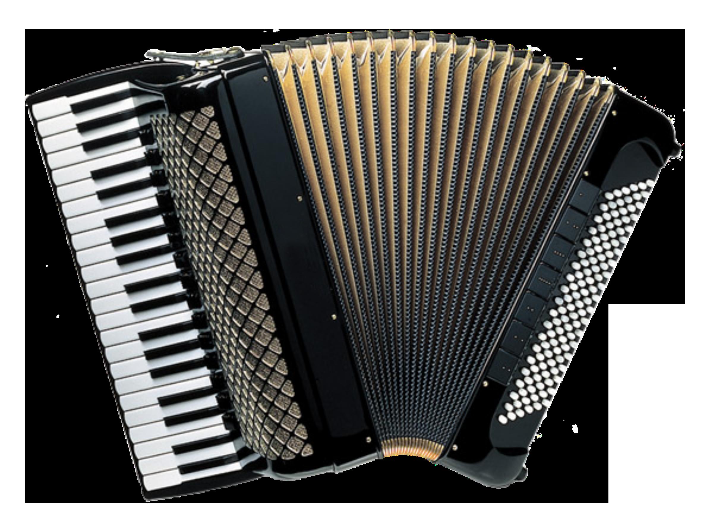 Piano Accordion Vector Clipart image.
