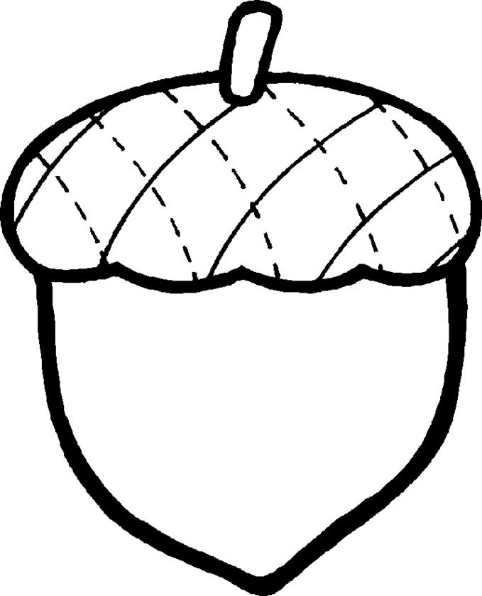 Fall black and white free black and white acorn clip art clipartfest.